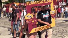 Calcio, all'Olimpico il derby Roma-Lazio