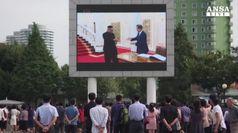 Terzo summit Coree, Kim e Moon si incontrano a Pyongyang