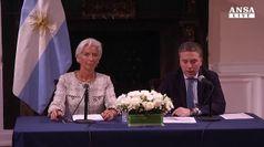 Salvataggio record, dal Fmi 57 miliardi dollari all'Argentina
