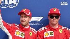 Prima fila per Ferrari al Gran Premio di Monza