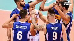 Volley, seconda vittoria consecutiva per azzurri
