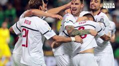 Il Milan umilia il Sassuolo