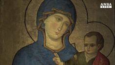 Restauro svela firma icona della Madonna di San Luca
