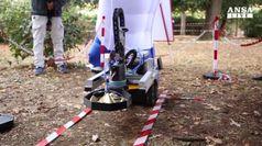 Il nuovo robot sminatore parla toscano