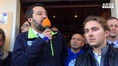 Salvini: ancora sconfinamenti migranti dalla polizia francese