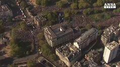 Migliaia a Londra per referendum su accordo Brexit