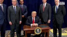Trump ritirera' Usa da trattato sui missili nucleari