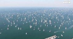 Barcolana 50: show e record barche, trionfa Portopiccolo