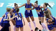 Azzurre del volley in semifinale, oggi incontrano la Serbia