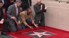 Hollywood, una stella per Snoop Dogg