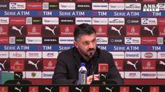 Milan batte Genoa 2-1, Gattuso in zona Champions
