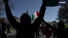 Protesta a Tijuana per carovana migranti verso Usa