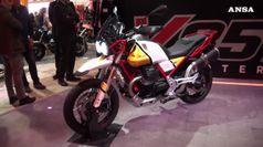 Moto Guzzi stupisce con nuova V85 TT