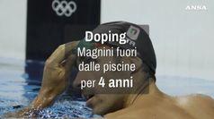 Doping, 4 anni di squalifica a Magnini