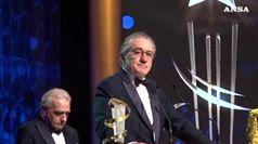 Scorsese omaggia De Niro, ricordando Bertolucci