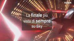 La finale piu' vista di sempre su Sky