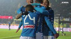 Serie A, il Napoli passa a Bergamo