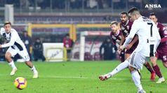 Serie A, la Juve si aggiudica anche il derby