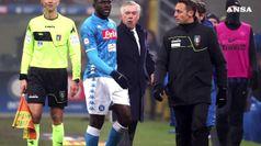 Inter batte il Napoli, cori razzisti contro Koulibaly