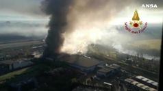 A Roma brucia impianto rifiuti, aperta indagine
