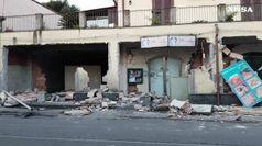 Sisma nel Catanese, a Fleri muri crollati e danni a chiese
