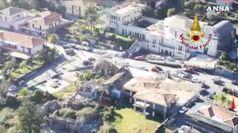 Sicilia, in volo sulle zone colpite dal sisma