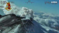 Notte tranquilla sull'Etna dopo il sisma