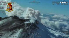 Si abbassa l'attivita' sismica dell'Etna
