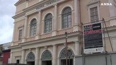 Il restauro del Teatro comunale dell'Aquila
