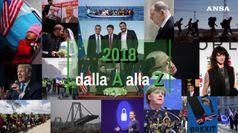 Il 2018 dalla A alla Z