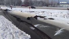 Forte scossa di terremoto in Alaska