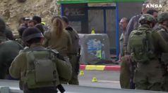 Cisgiordania, 2 israeliani uccisi in attacco fermata bus