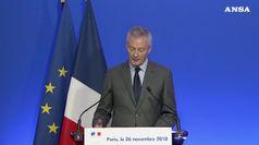 Gilet gialli, l'economia francese accusa il colpo