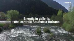 Una centrale idroelettrica in galleria