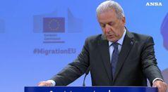 Migranti, oggi Avramopoulos da Conte e Salvini