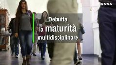 Debutta la maturita' multidisciplinare