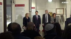 Il Presidente del Consiglio in visita alla Comunita' Ebraica di Roma