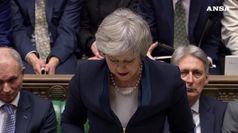 Bocciatura storica per May a Westminster