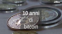 Dieci anni di bitcoin, picco 20,000$ poi crollo