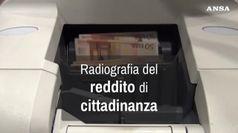 Radiografia del reddito di cittadinanza