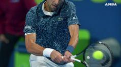 Tennis, Djokovic fuori a sorpresa