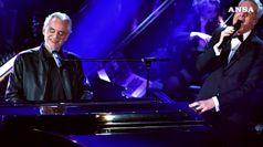 Sanremo al via, emozione per Bocelli