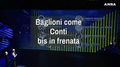 Baglioni come Conti, bis in frenata