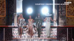 A sorpresa ai Grammy spunta Michelle Obama