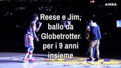 Reese e Jim, ballo da Globetrotter
