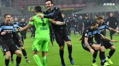 Coppa Italia: Inter ko 5-4 ai rigori, Lazio in semifinale