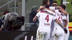 Notte fonda per l'Inter, Roma in ripresa fa pari col Milan