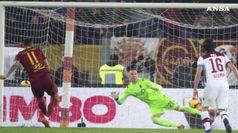 Ultimo posticipo Roma supera il Bologna