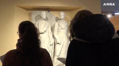 Torna a splendere rilievo di Eurisace e Atistia del I sec. a.C.