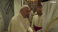 Il Papa negli Emirati, conferenza sulla fraternita' umana